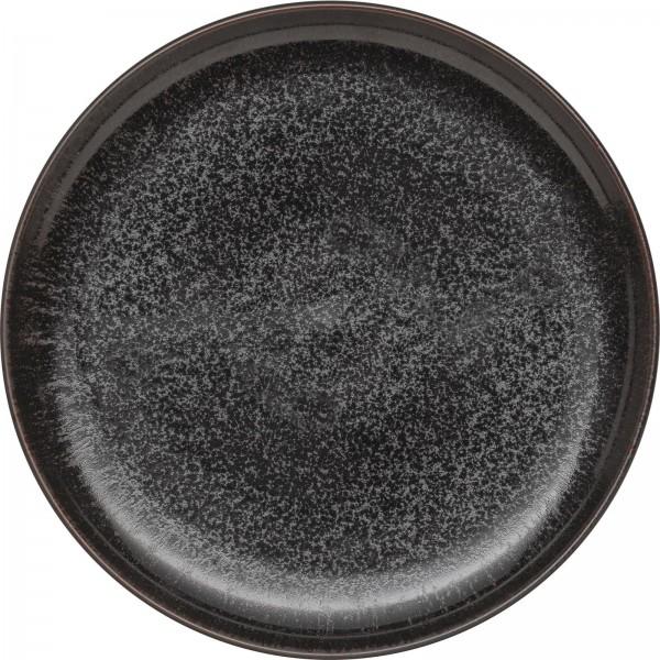 """Ebony"" Teller flach Ø26,5cm schwarz VPE 4"