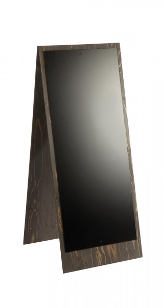 "Tafelständer ""Stella"" 56x136cm grau geölt Sperrhol"