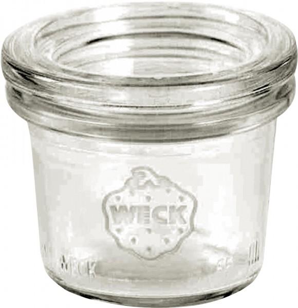 """Weckglas """"Mini-Sturz-Form"""" 0,035L VPE24"""