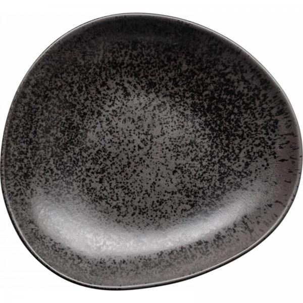 Teller tief 24,5x23cm Ebony VE6