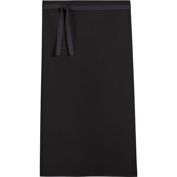 Vorbinder 45x80 cm, Mischgewebe, 3er Pack Farbe Schwarz