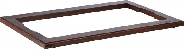 """Rahmen Aufsatz """"Wood"""" 2cm, Buche dunkel gebeizt"""
