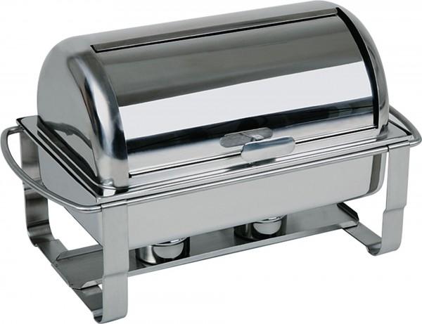Rolltop-Chafing-Dish, 67x35cm, H: 45cm, Edelstahl rostfr