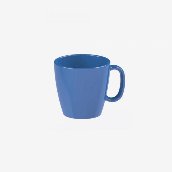 "Tasse ""Colour"" 0,23L blau Kunststoff PBT VPE 5"