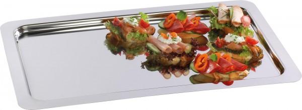 Gastronorm-Tablett 1/1 GN 18/10 schwere Ausführ