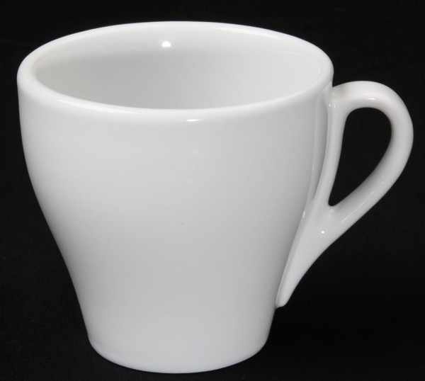 "Tasse obere Kaffee Grande ""Café"" 0,35L, weiß, Porzellan, VPE 6"