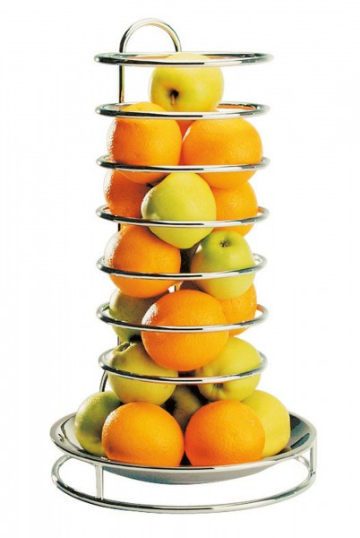 Etagere 'Fruits', 18/8 poliert, Metalldraht
