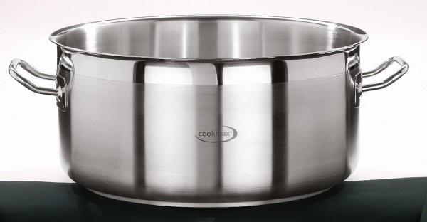 """Bratentopf flach Inhalt: 17,3 Liter """"Cookmax"""""""