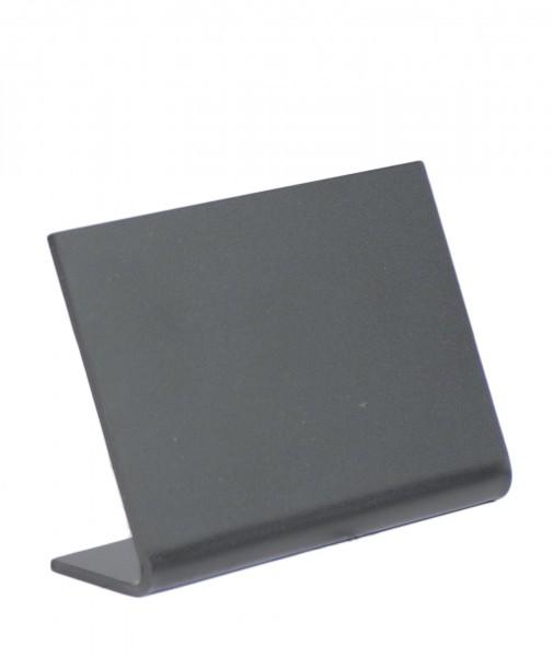 Aufsteller A8 schwarz Acryl 5er Pack