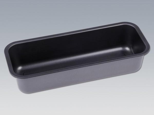 Königskuchenform, L: 32 B: 13 H: 7cm, anthrazit-metallic