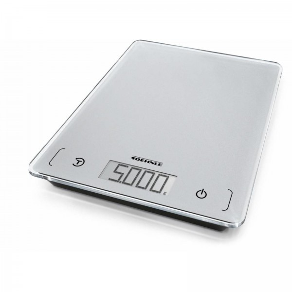 """Küchenwaage """"Digital"""" bis 5 kgTeilung 1g SchritteMaße: 16x21x1,8 cmGefertigt aus"""