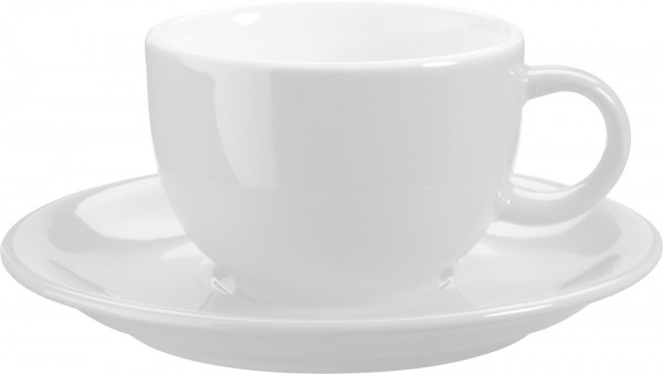 """Tasse Obere Kaffee/Capp. """"Barista"""" 0,20l weiß VPE 6"""
