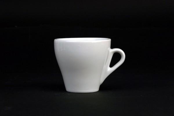 "Tasse obere Kaffee ""Café"" 0,18L, weiß, Porzellan, VPE 6"