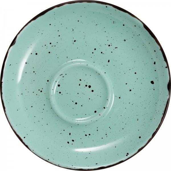 """""""Granja"""" mint-braun Tasse Untere Kaffee/Cappuccino Ø13,7cm VPE 6"""