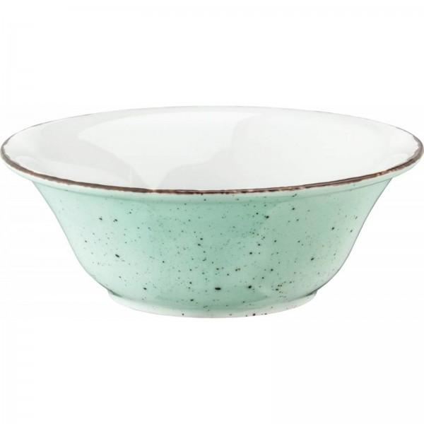 """Granja"" mint-braun Schüssel Ø18,5cm H:6,5cm VPE 6"