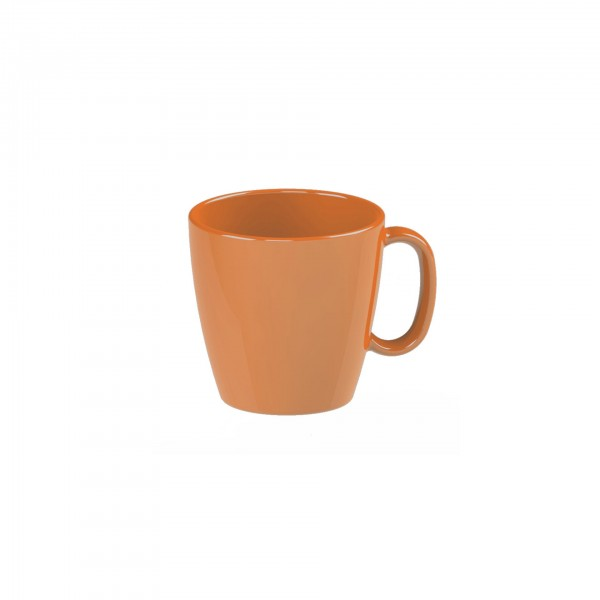 "Tasse ""Colour"" 0,23L orange Kunststoff PBT VPE 5"