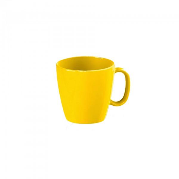 """Tasse """"Colour"""" 0,23L gelb Kunststoff PBT VPE 5"""