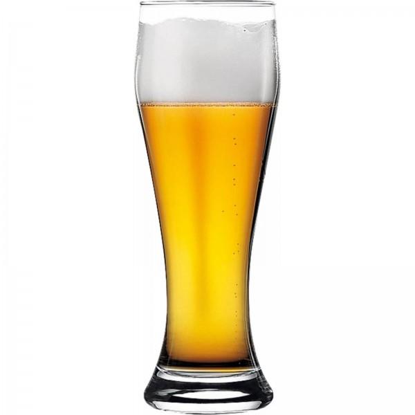 Weizenbierglas 0,5l mit Füllstrich VPE 6