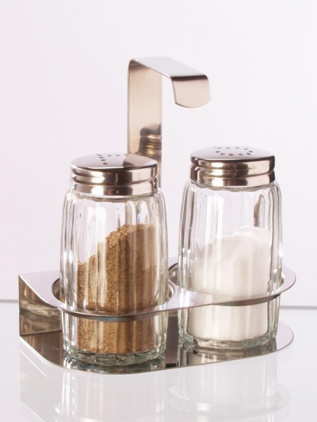 Salz/Pfeffer-Menage