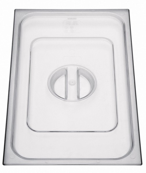 GN Deckel 1/6 ohne Löffelausschnitt Polycarbonat Polycarbonat, transparent, ohne