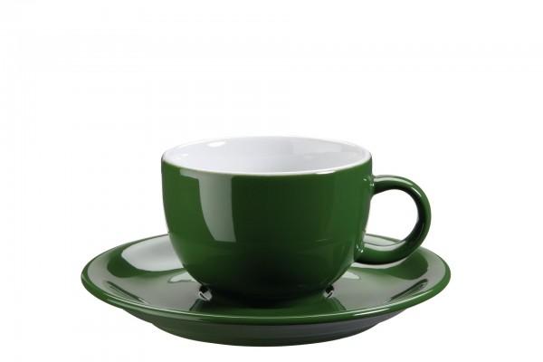 "Tasse Untere Kaffee/Capp. ""Barista"" Ø15cm grün VPE 6"