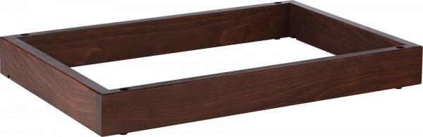 """Rahmen """"Wood"""" 6,5cm, Buche dunkel gebeizt"""