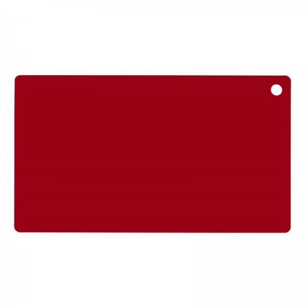 Auflage für Schneidbrett 60x40cm, Farbe Rot