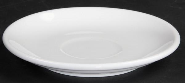 "Tasse untere Kaffee ""Café"" Ø 14,0 cm, weiß, Porzellan, VPE 6"