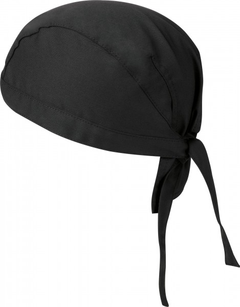 GREIFF Bandana 100% Baumwolle Farbe Schwarz 3er Pack
