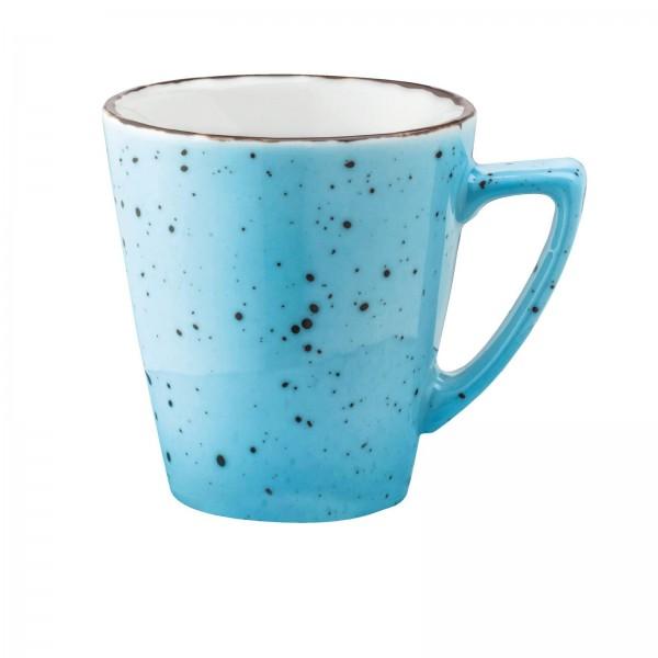 """""""Granja"""" aqua-braun Tasse Obere Kaffee Grande 0,29L VPE 6"""