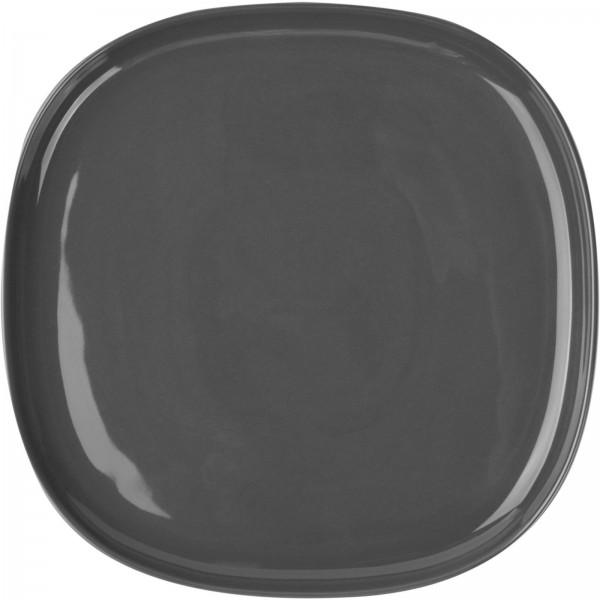 """Porzellanserie """"Skagen"""" High Alumina Teller 24,0 cm, grau, VPE 6"""