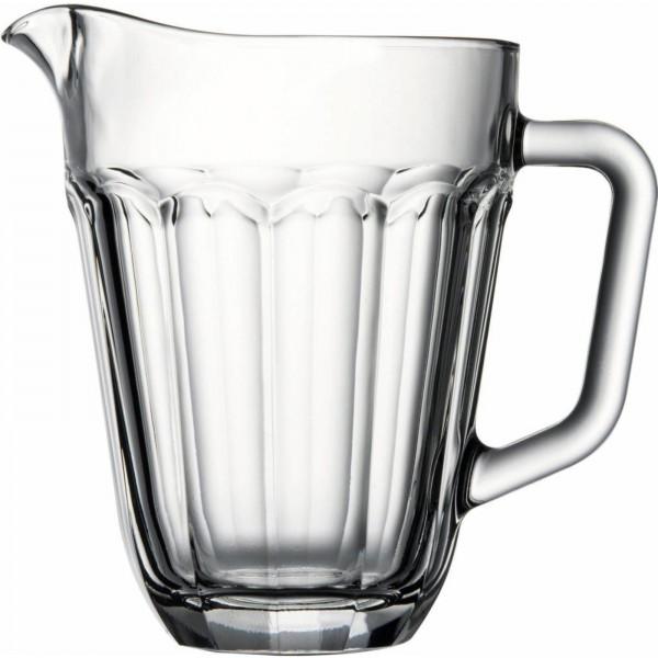 """Krug """"Casablanco"""", Glas, VE6, Boden Ø 5,5 cm,Oben Ø 15,3cm, 19cm hoch"""