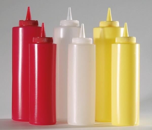Dosierflasche PE, gelb, 0,75L