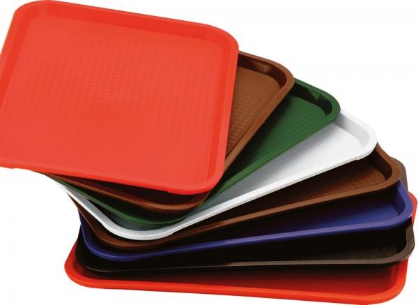 Polypropylen Tablett 415x310 dunkelgrün