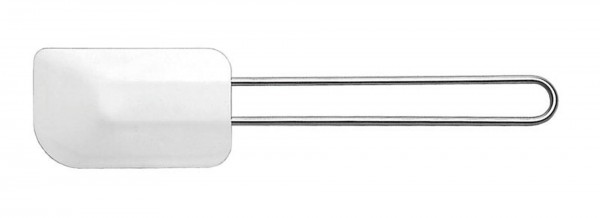 Stielschaber 120x75mm, mit elastischem Blatt