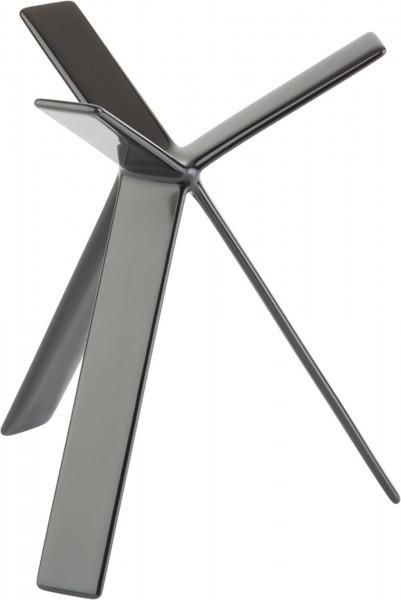 """Buffet-Ständer """"Space"""" H: 18cm, Metall Metall, schwarz ummantelt mit Antirutschg"""