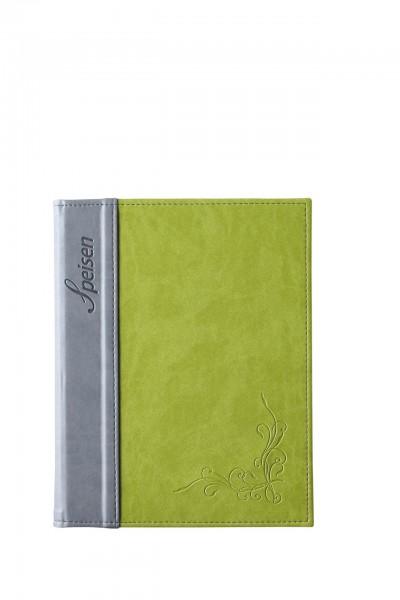 """Speisenkarte A5 """"Flora"""" Limone"""
