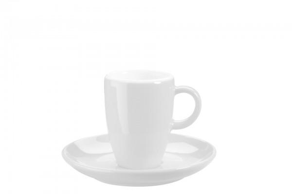 """Tasse Untere Espresso """"Barista"""" Ø11cm weiß VPE 6"""