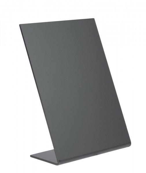 Aufsteller A6 schwarz Acryl 3er Pack