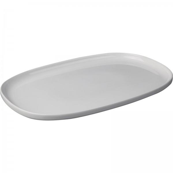 """Porzellanserie """"Skagen"""" High Alumina Platte 30,x20,0 cm, weiß, VPE 4"""