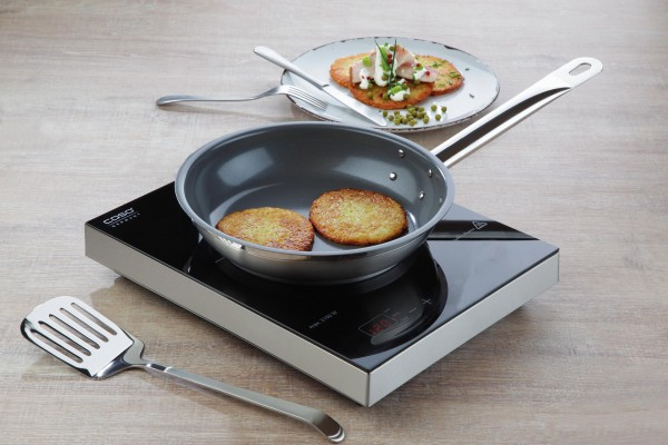 """Bratpfanne keramikbeschichtet """"Cookmax"""" Ø28cm H: 5,5cm"""