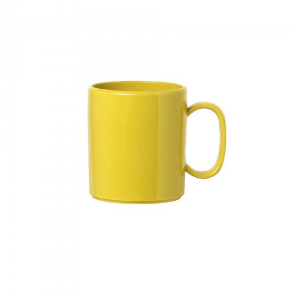 """Becher """"Colour"""" 0,325L gelb Kunststoff PBT VPE 5"""