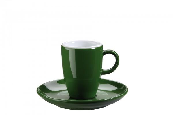 """Tasse Untere Espresso """"Barista"""" Ø11cm grün VPE 6"""